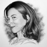 Портрет карандашом пошагово