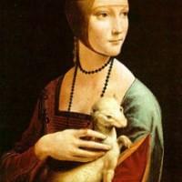 «Дама с горностаем» Леонардо Да Винчи