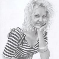 Портрет карандашом поэтапно