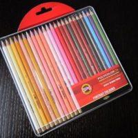 Рисуем портрет цветными карандашами (непрофессиональный набор)